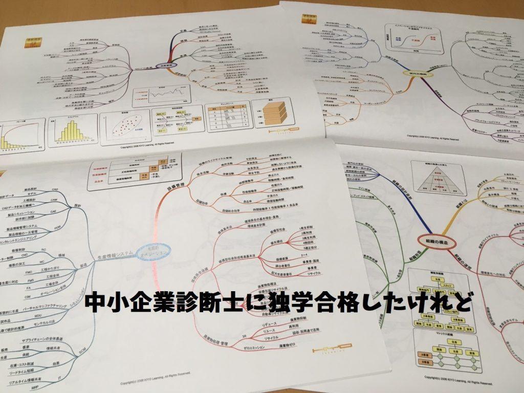 通勤講座中小企業診断士学習マップ